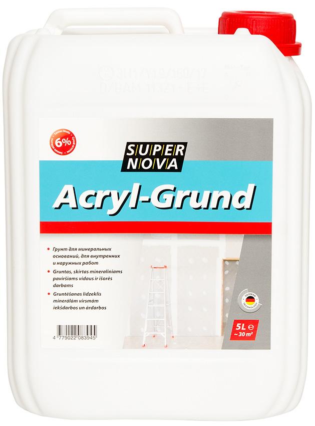 acryl grund